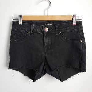 Evermore Black Cut Offs Size 3